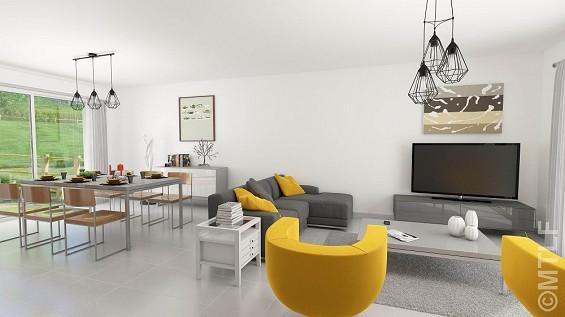 Maison à vendre .(125 m²)(MONTSOULT) avec (GROUPE LESTERLIN)
