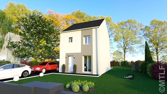 Maison à vendre .(82 m²)(AUBEPIERRE OZOUER LE REPOS) avec (GROUPE LESTERLIN)