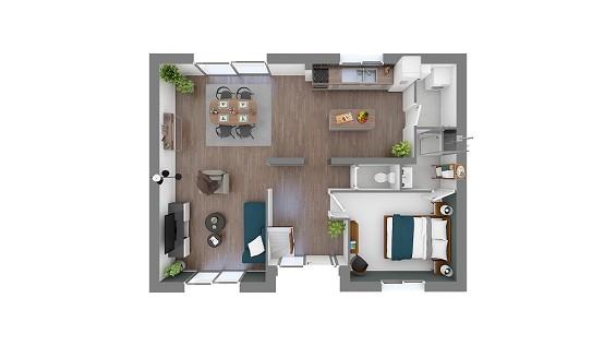 Maison à vendre .(104 m²)(LE PLESSIS TREVISE) avec (GROUPE LESTERLIN)