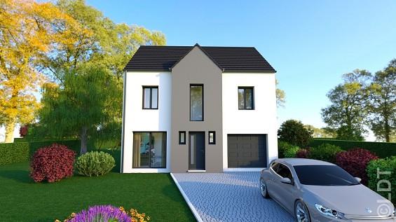 Maison à vendre .(110 m²)(AMIENS) avec (GROUPE LESTERLIN)