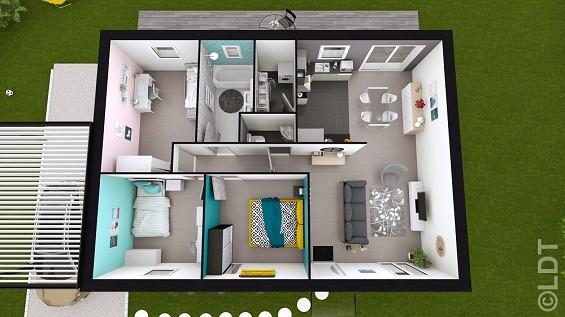 Maison à vendre .(79 m²)(PONT NOYELLES) avec (GROUPE LESTERLIN)