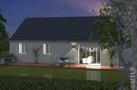Maison à vendre .(77 m²)(PONT NOYELLES) avec (GROUPE LESTERLIN)