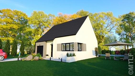 Maison à vendre .(91 m²)(PONT NOYELLES) avec (GROUPE LESTERLIN)
