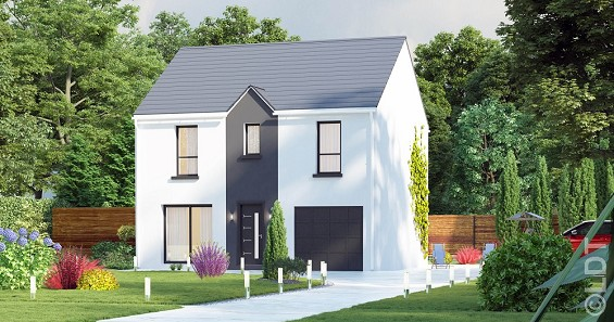 Maison à vendre .(105 m²)(LA VILLE DU BOIS) avec (GROUPE LESTERLIN)