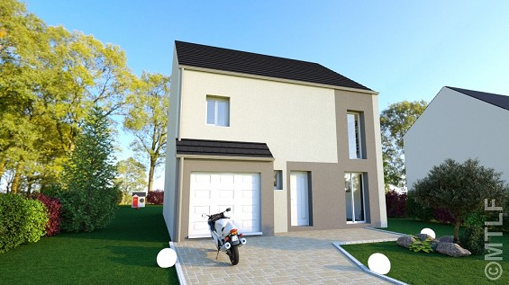 Maison à vendre .(95 m²)(LE PLESSIS FEU AUSSOUX) avec (GROUPE LESTERLIN)