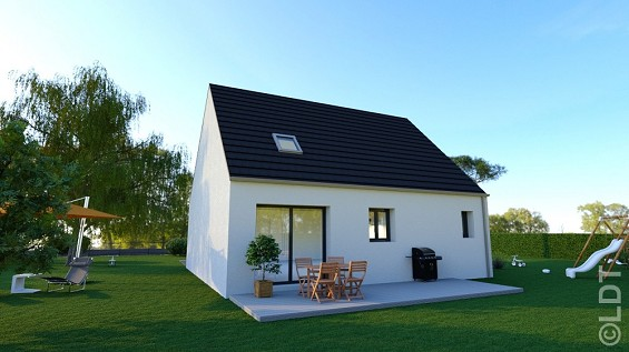 Maison à vendre .(93 m²)(BELLOY EN FRANCE) avec (GROUPE LESTERLIN)