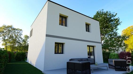 Maison à vendre .(90 m²)(MONTEVRAIN) avec (GROUPE LESTERLIN)