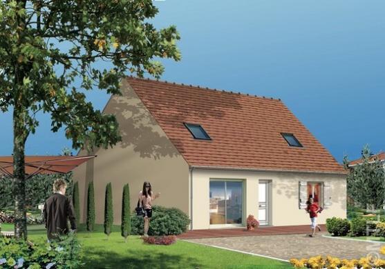 Maison à vendre .(82 m²)(CHAUMES EN BRIE) avec (GROUPE LESTERLIN)