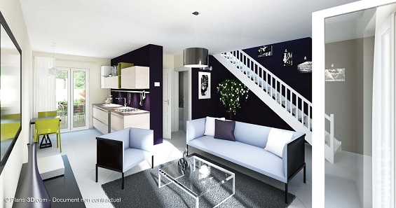 Maison à vendre .(82 m²)(FONTENAY TRESIGNY) avec (GROUPE LESTERLIN)