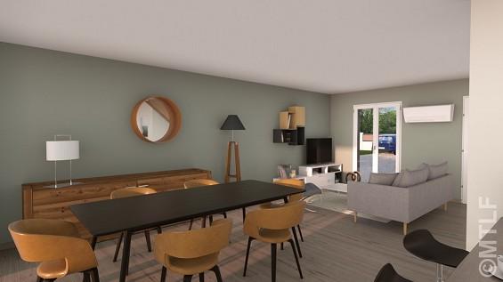 Maison à vendre .(93 m²)(THENNES) avec (GROUPE LESTERLIN)