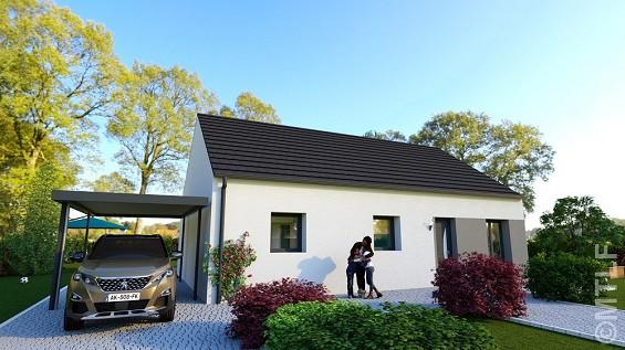 Maison à vendre .(79 m²)(THENNES) avec (GROUPE LESTERLIN)