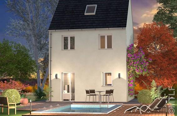 Maison à vendre .(82 m²)(BERNAY VILBERT) avec (GROUPE LESTERLIN)