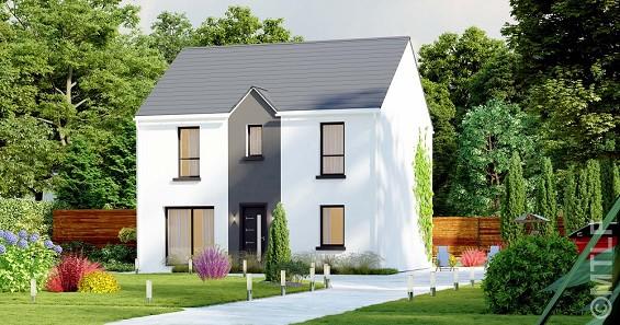 Maison à vendre .(117 m²)(BERNAY VILBERT) avec (GROUPE LESTERLIN)