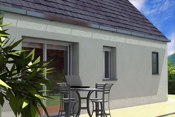 Maison à vendre .(93 m²)(QUINCY VOISINS) avec (GROUPE LESTERLIN)