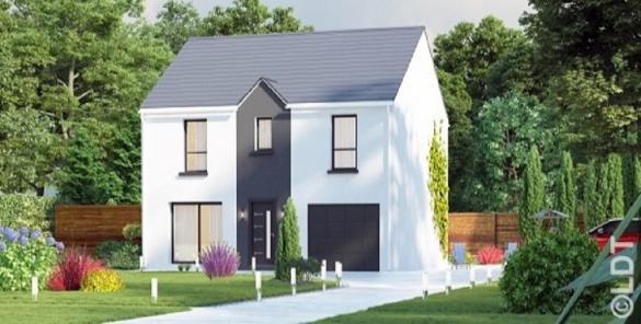 Maison à vendre .(117 m²)(POINCY) avec (GROUPE LESTERLIN)