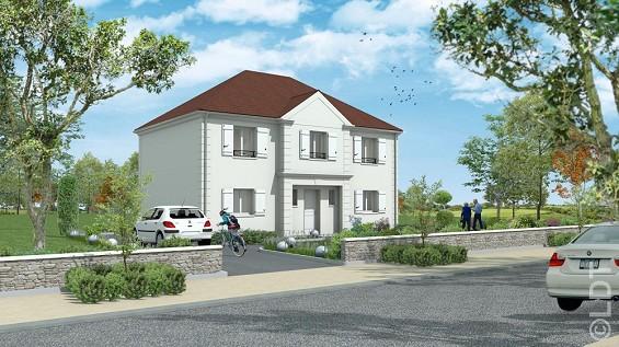 Maison à vendre .(94 m²)(POINCY) avec (GROUPE LESTERLIN)
