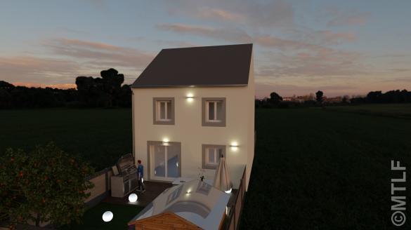 Maison à vendre .(96 m²)(VILLEJUST) avec (GROUPE LESTERLIN)