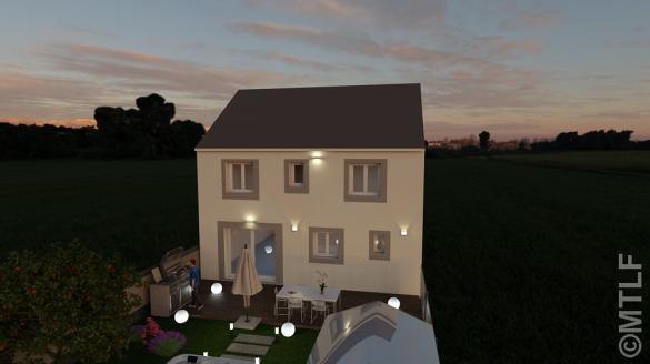 Maison à vendre .(106 m²)(VILLEJUST) avec (GROUPE LESTERLIN)