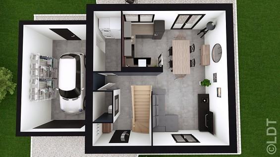 Maison à vendre .(73 m²)(GUERARD) avec (GROUPE LESTERLIN)