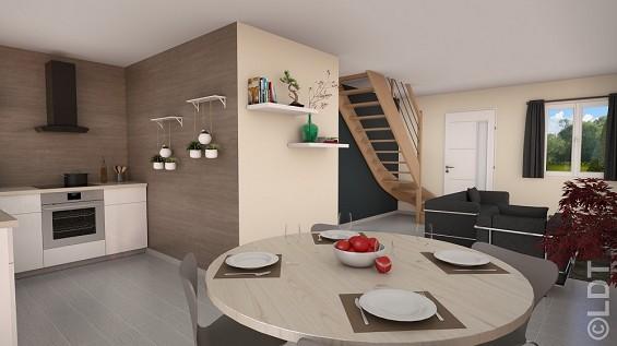 Maison à vendre .(78 m²)(POINCY) avec (GROUPE LESTERLIN)