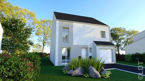 Maison à vendre .(95 m²)(POINCY) avec (GROUPE LESTERLIN)