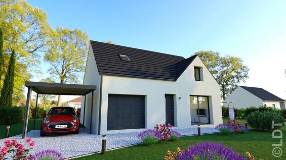 Maison à vendre .(88 m²)(VERNEUIL EN HALATTE) avec (GROUPE LESTERLIN)