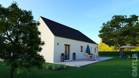Maison à vendre .(87 m²)(MANDRES LES ROSES) avec (GROUPE LESTERLIN)