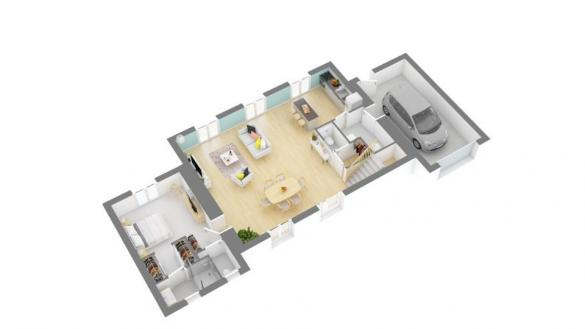 Maison+Terrain à vendre .(130 m²)(CONILHAC CORBIERES) avec (MAISONS FRANCE CONFORT)
