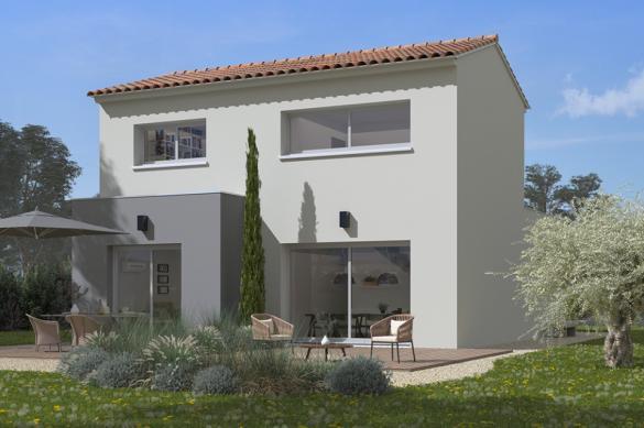 Maison+Terrain à vendre .(92 m²)(OLONZAC) avec (MAISONS FRANCE CONFORT)