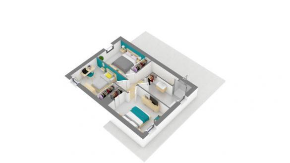 Maison+Terrain à vendre .(90 m²)(SALLES D'AUDE) avec (MAISONS FRANCE CONFORT)