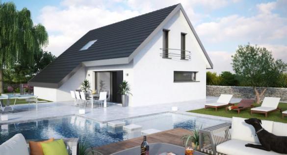 Maison+Terrain à vendre .(106 m²)(TRUCHTERSHEIM) avec (MAISONS STEPHANE BERGER)