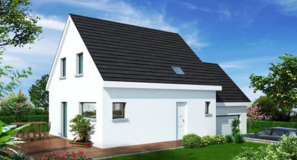 Maison+Terrain à vendre .(90 m²)(ROESCHWOOG) avec (MAISONS STEPHANE BERGER)