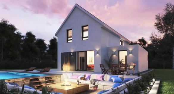 Maison+Terrain à vendre .(115 m²)(HERRLISHEIM) avec (MAISONS STEPHANE BERGER)