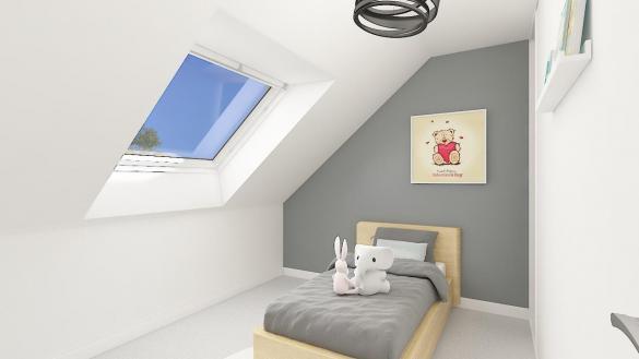 Maison+Terrain à vendre .(107 m²)(MERIEL) avec (MAISONS PHENIX)