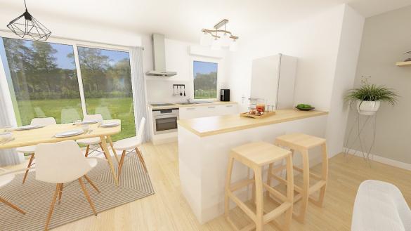 Maison+Terrain à vendre .(105 m²)(DOMONT) avec (MAISONS PHENIX)