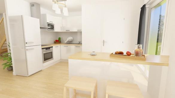 Maison+Terrain à vendre .(96 m²)(SANNOIS) avec (MAISONS PHENIX)