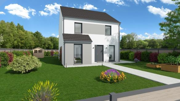 Maison+Terrain à vendre .(118 m²)(MERY SUR OISE) avec (MAISONS PHENIX)