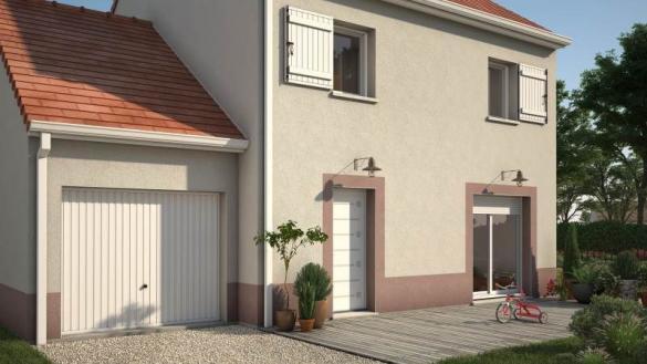 Maison+Terrain à vendre .(91 m²)(GONESSE) avec (Maisons France Confort)