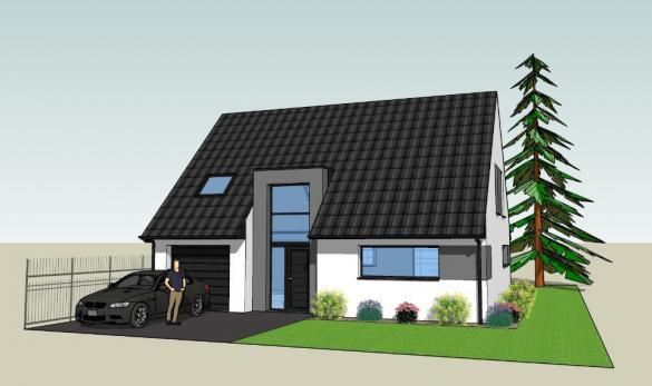 Maison+Terrain à vendre .(140 m²)(FLEURBAIX) avec (MAISONS FRANCE CONFORT)