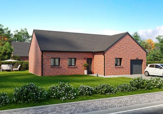 Maison+Terrain à vendre .(105 m²)(SARS POTERIES) avec (MAISONS FRANCE CONFORT)