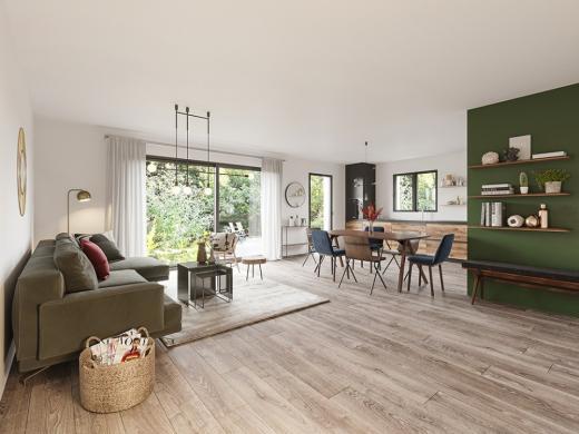 Maison+Terrain à vendre .(105 m²)(LOUVROIL) avec (MAISONS FRANCE CONFORT)
