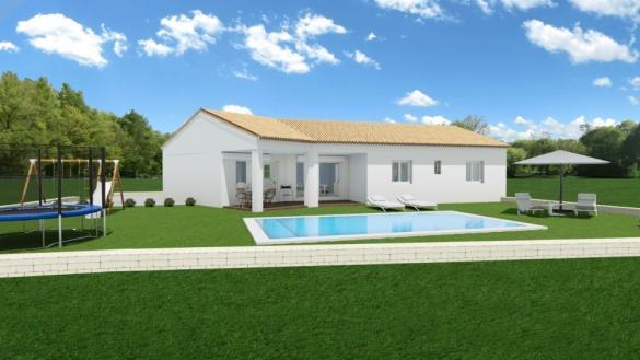 Maison+Terrain à vendre .(122 m²)(LA ROQUE D'ANTHERON) avec (LES MAISONS DE MANON)