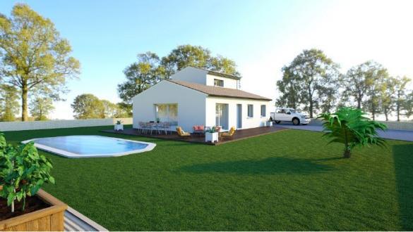 Maison+Terrain à vendre .(99 m²)(NANS LES PINS) avec (LES MAISONS DE MANON)