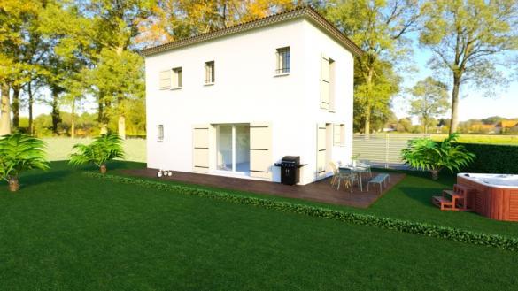 Maison+Terrain à vendre .(79 m²)(ENSUES LA REDONNE) avec (LES MAISONS DE MANON)