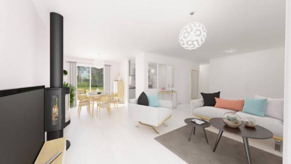 Maison+Terrain à vendre .(90 m²)(DENAT) avec (Maisons France Confort)