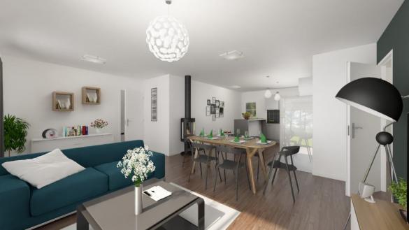 Maison+Terrain à vendre .(84 m²)(REALMONT) avec (Maisons France Confort)