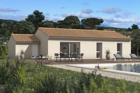Maison+Terrain à vendre .(83 m²)(MONTGEARD) avec (MAISONS FRANCE CONFORT)