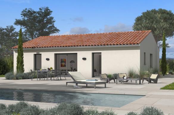 Maison+Terrain à vendre .(75 m²)(VILLENOUVELLE) avec (Maisons France Confort)