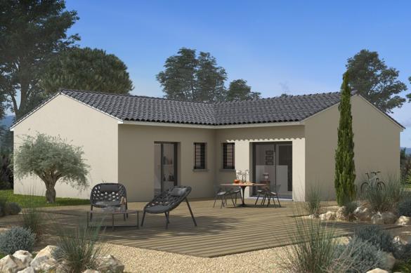 Maison+Terrain à vendre .(90 m²)(VIGOULET AUZIL) avec (Maisons France Confort)