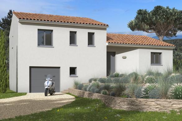 Maison+Terrain à vendre .(90 m²)(DALOU) avec (Maisons France Confort)